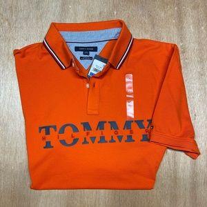 TOMMY HILFIGER  XL Orange Polo